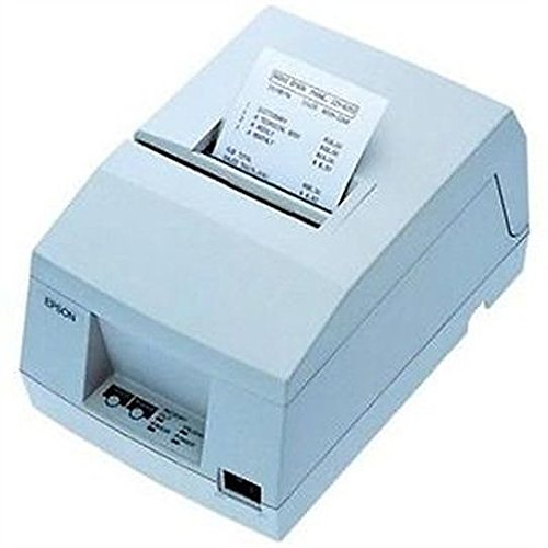 Cool White Serial Power Supply (Epson C213031 TM-U325D-031 Receipt-Validation Printer with Serial Interface and Power Supply - Color Cool White)