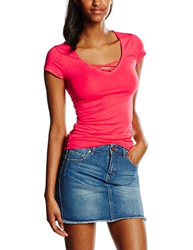 Stscolibra 56 Donna Sorbet shirt pink T Rosa Tally Weijl PHqFaxw5q1