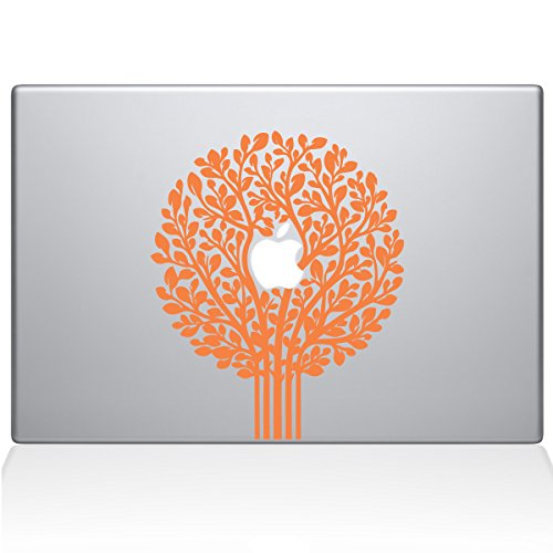 Tree of Life Topiary Removable Vinyl Decal Sticker Skin for Apple Macbook Pro 13 inch (Pre-2016 model) Laptop in (Apple Topiary)