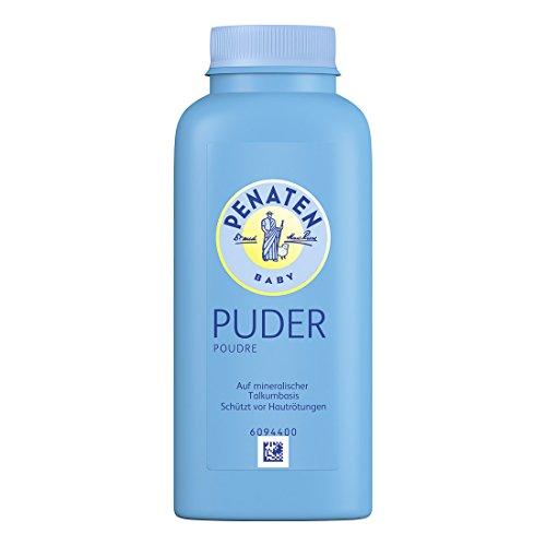 Penaten Puder poudre, für empfindliche Babyhaut - beugt Hautrötungen vor, 1er Pack (1 x 100 g)
