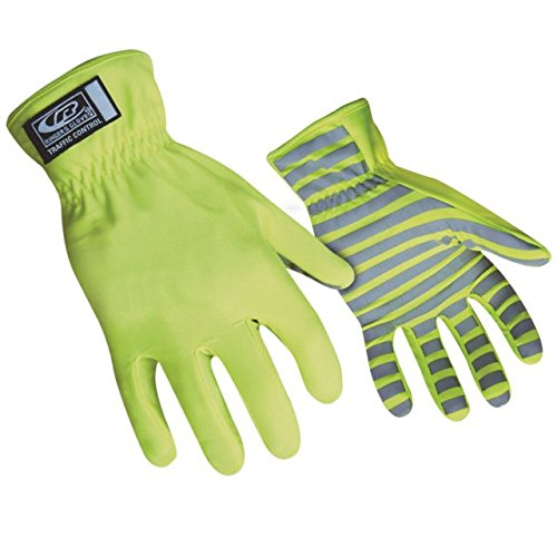 (Ringers Gloves 307-12 Hi-Vis Traffic Gloves, XX-Large, Green)