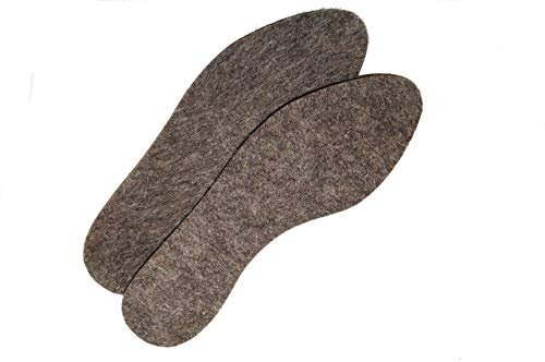 Thickness insole 8 mm Insole Felt Eco material. 100/% Sheep fur Very warm