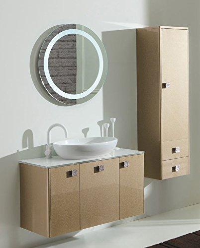 Specchio Tondo Bagno.Dafnedesign Com Mobile Da Bagno Con Cassetti E Specchio