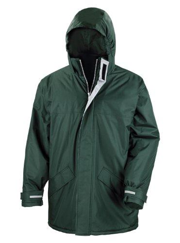 Result Herren Mantel Grün Grün Größe L