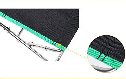 Sgabelli sedia da pesca portatile in alluminio sgabello da pesca