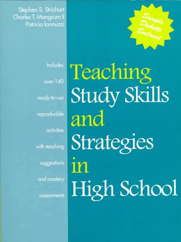 Teaching Study Skills and Strategies in High School