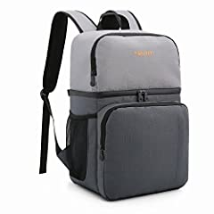 TOURIT 16 Cans Insulated Cooler Backpack for Hiking Whether you have strong interest in road/ beach trip, picnics or daily hiking, the TOURIT backpack cooler is your best partner for all types of outdoor activities. The stylish design of our ...