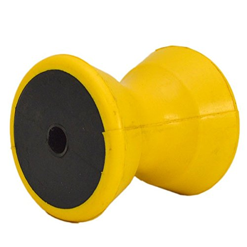 Craton Boat Bow Roller BR444P | 4 Inch Yellow Rubber