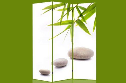 Paravent Raumteiler Trennwand Bambus 120x180cm Amazonde Küche