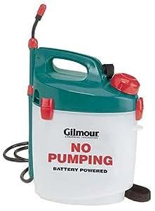 Gilmour 1 Gallon Battery Powered Sprayer Ps1 Manual Compression Sprayers Garden