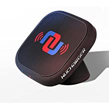 Nucharger Snap200 Car Cellphone Holder 360° Rotatable Wireless Charger for Galaxy S6/S7/S7 Edge, Note 5/6, Nexus, LG and All QI-Enabled Devices, with 2x2A Dual USB Car Charger Mini Air Purifier