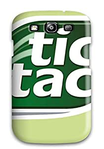 New Arrival Cover Case With Nice Design For Galaxy S3- Tic Tac Logo