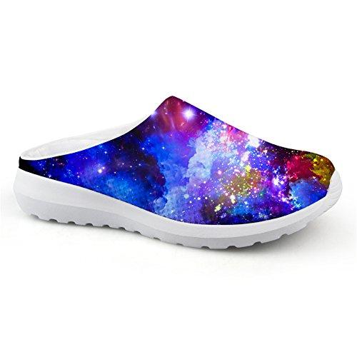 Bigcardesigns Fashion Galaxy Printed Slipper Summer Women Sandals Women Teenagers 36 8PlY1BhLrU