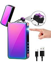 KIMILAR Elektrische aansteker, USB, dual oplaadbaar, met aanraaksensor, elektronische aansteker voor kaarsen, keuken, grill, barbecue