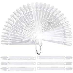 Amazon.com: 200 piezas de palillos transparentes para ...