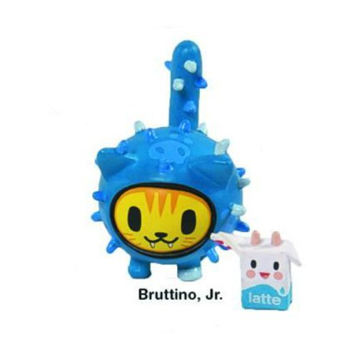 (Bruttino Jr. Cactus Kitties Vinyl Figure Tokidoki Cactus Friends Simone Legno by Cactus Kitties)