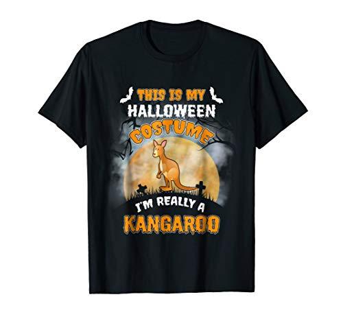 Kangaroo This Is My Halloween Costume Shirt -