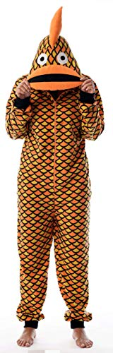 Just Love Adult Onesie Pajamas Goldfish -
