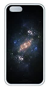 taoyix diy iPhone 5 5S Case Emptiness of space TPU Custom iPhone 5 5S Case Cover White