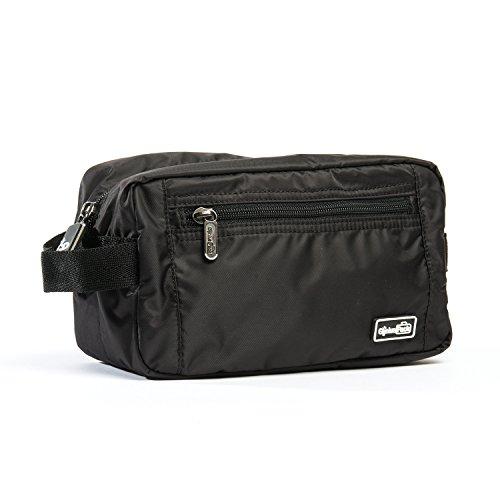 Genius Pack Essential Travel Dopp Kit - Water Resistant Toiletry Bag