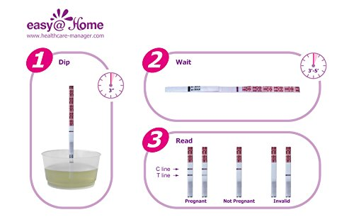 1000 Easy@Home Home HCG Pregnancy Test Strips by Easy@Home (Image #1)