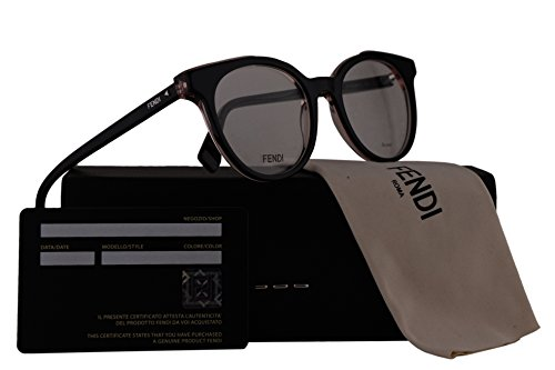 Fendi FF0249 Eyeglasses 50-19-140 Black w/Demo Clear Lens 807 FF - Fendi Spectacle Frames
