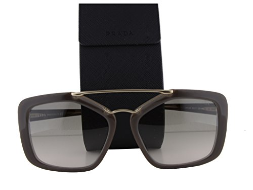 Prada PR24RS Sunglasses Opal Brown Beige w/Light Brown Gradient Light Green Lens UED-3H2 PR 24RS For - Sunglasses Robert Marc