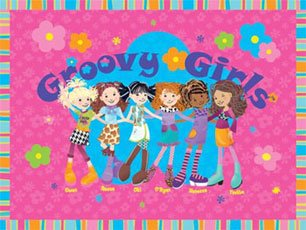 Peaceable Kingdom Poster Print - (18x24) Groovy Girls Poster