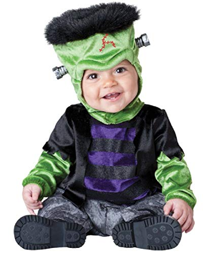 InCharacter Costumes Baby's Monster-Boo Costume, Black/Green/Purple, Medium -