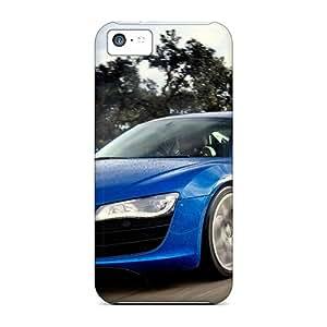 New YAK3887Ozlc 2010 Audi R8 5.2 Fsi Quattro 7 Skin Case Cover Shatterproof Case For Iphone 5c