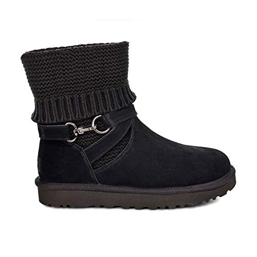 Ugg Strap Botin Black Purl For Women 44xZrqfUvn