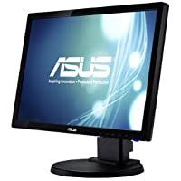 Asus VE198TL 19 inch Widescreen 10,000,000:1 5ms VGA/DVI LED LCD Monitor, w/ Speakers (Black)