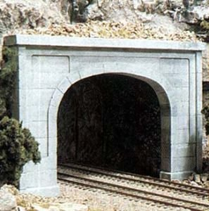 Woodland Scenics WS 1156 N Tunnel Portal Concrete-2 Double