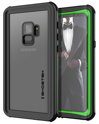 Ghostek Nautical Full Body Rugged Waterproof Case Compatible with Galaxy S9 - Green