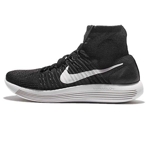 Uomo Nike Flyknit Lunarepic Scarpe Da Corsa, Blu E Bianco (bianco / Nero-antracite-volt)