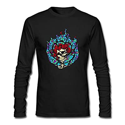 STROFA Men's DJ Snake Rose Long Sleeve T Shirt