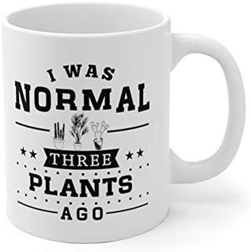 24414a2592c AliceHitMood - I Was Normal Three 2 Plants Ago Mug, Crazy Plant Lady Mug, Plant  Lover Gift, Plant Lady Mug, Gardening Gardener Gift, 11oz Ceramic Coffee ...