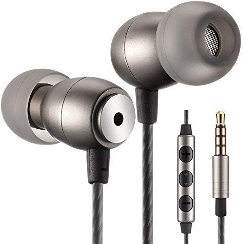 Betron GLD100 Earphones Headphones High Definition, in-Ear, Tangle Free, Noise Isolating, Bass Driven Sound for iPhone, iPod, iPad, Samsung, Tablets and Mp3 Players