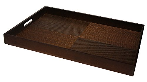 Large Bamboo Serving Tray - Simply Bamboo Extra Large (23