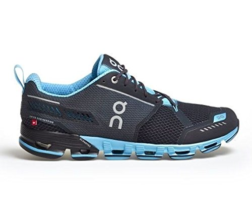 On Running Mens Cloudflyer Iron/Sky Running Shoe - 8 (Man Of The Spirit Man Of The Word)