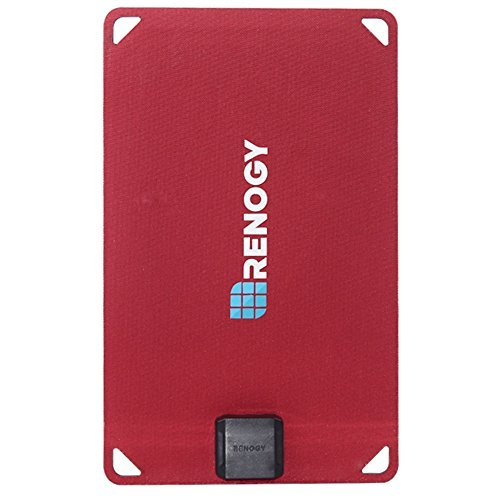 renogy-eflex-portable-monocrystalline-solar-panel-charger-with-usb-port-5-watt-red