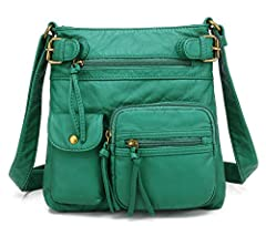 The Scarleton Accent Top Belt Crossbody Bag is a modern and chic purse at a price anyone would love. This spacious shoulder bag has lots of organized storage, more than enough room for your cell phone, wallet and makeup with plenty of space l...