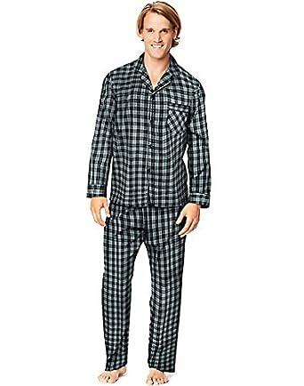 Hanes Men's Woven Pajamas LSLLBCWM