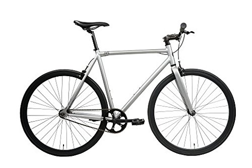Best track bikes - SXL Expressway Urban Track Bike Fixed/Single Speed (Matte Grey, Large)