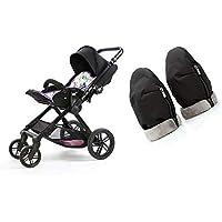 Manoplas para carro de bebé | Guantes de protección contra el frío y lluvia de carro de bebé | Manoplas impermeables de…