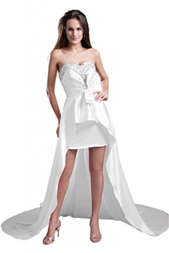 Sunvary Scollo a V partito cocktail Dresse breve Pageant Gowns Tulle posteriore Regency 52