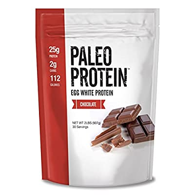 Paleo Protein Egg White (Chocolate) (Soy Free) (2 Carbs)(2LBS)