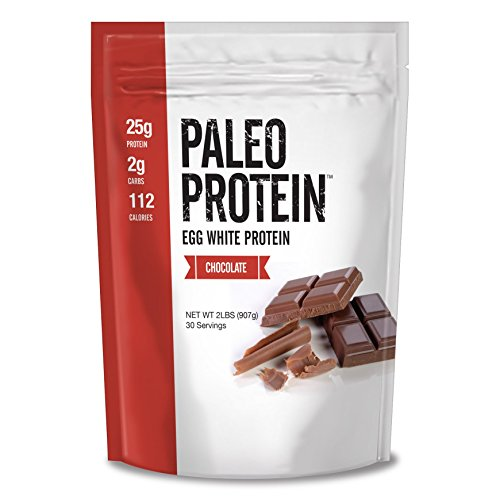 Julian Bakery : Paleo Protein Powder : Chocolate (Egg White) (2lbs) (Soy Free) (30 Servings)