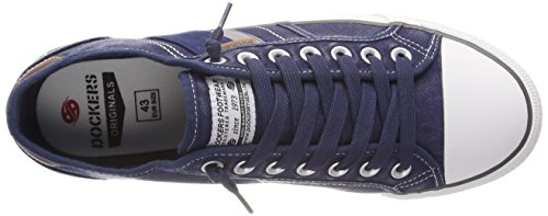 Dockers by Gerli 42jz002-790600, Sneakers Basses Homme Bleu (Blau 600)