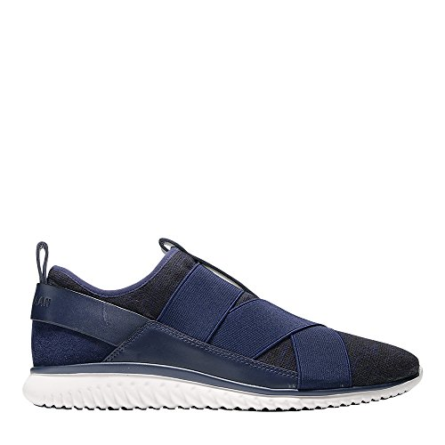 Cole Haan Studiogrand Knit Cross Strap Sneaker Blue Knit
